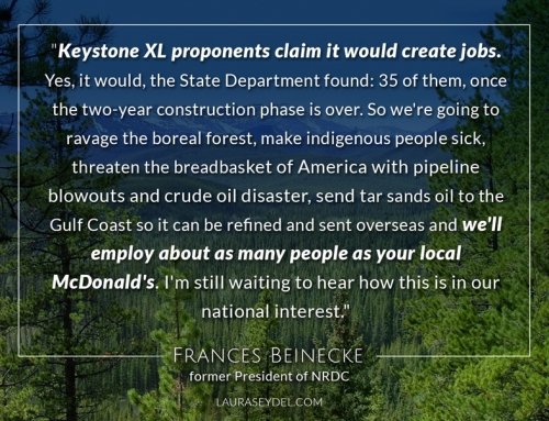 Francis Beinecke on Keystone XL
