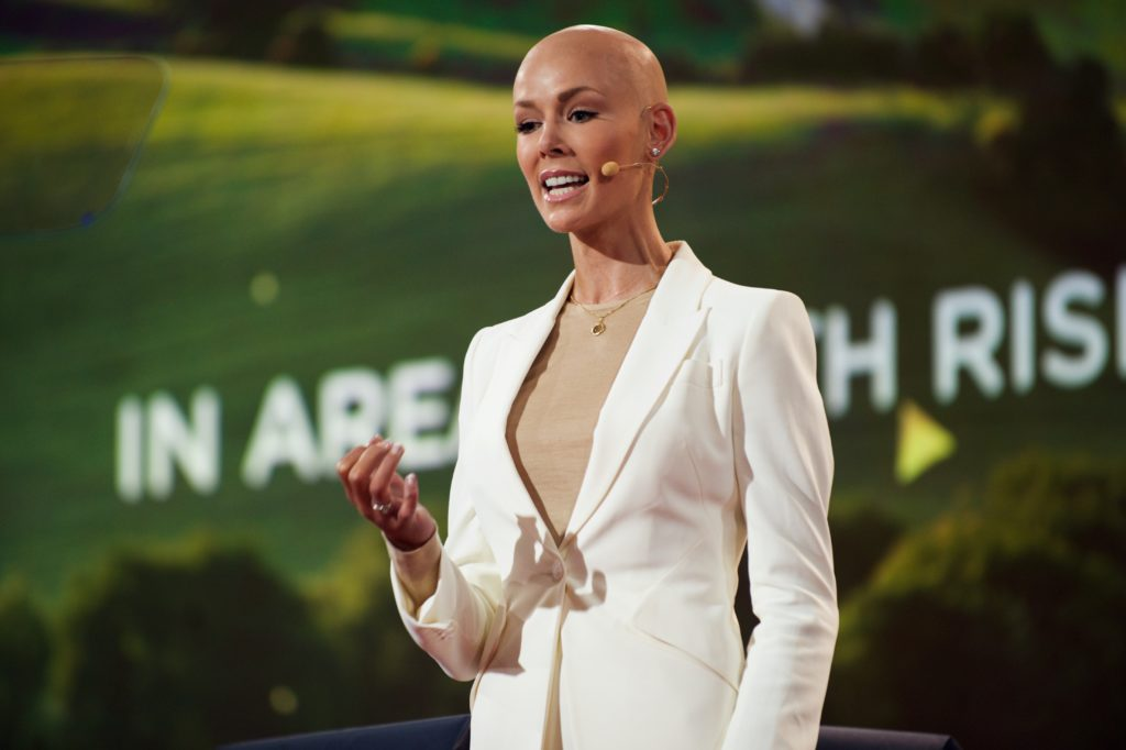 Dr. Gunhild A. Stordalen is co-founder and chair of the EAT Foundation and Stordalen Foundation. EAT 2016 Johan Lygrell