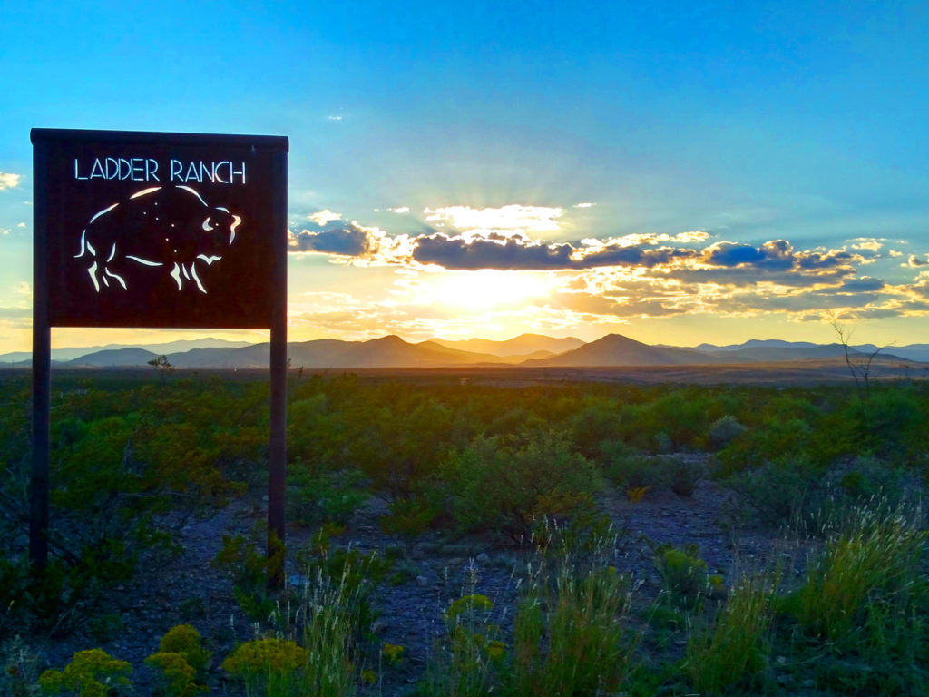 You can stay at Ted Turner's formerly private residence on endless acres of pristine nature at Ladder Ranch with Ted Turner Expeditions.